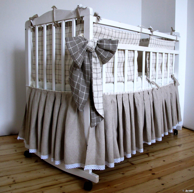 Пошив постельного белья в детскую кроватку своими руками