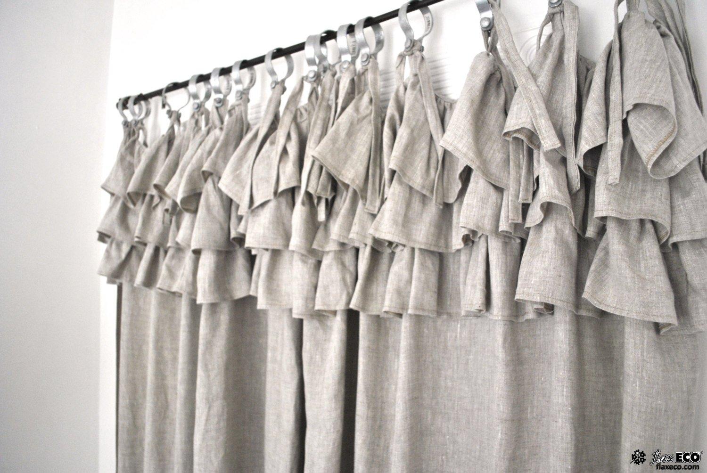 Достаточно ли Вы знаете о том, как сшить шторы из льна: советы швеи 34